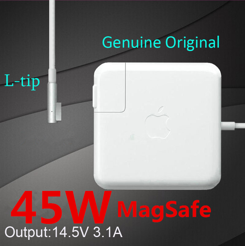 Genuine Original 45W Magsafe Laptop AC power adapter A1374 A1274 A1244 A1369 A1370 PA-1450-7 For Apple Macbook Air Charger.(China (Mainland))