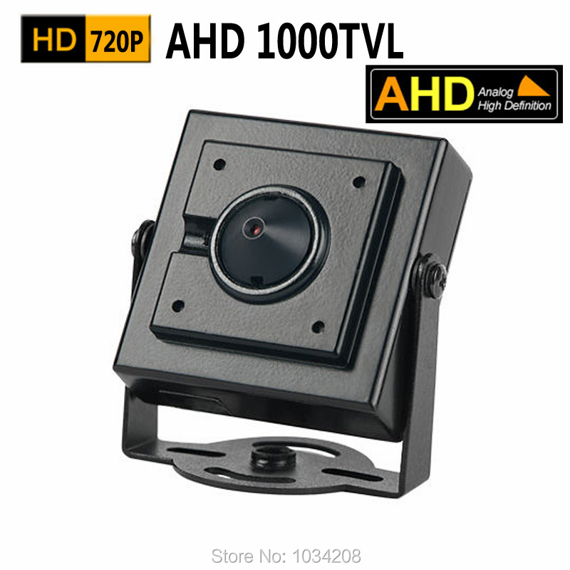 OSD Menu 3.7MM Pinhole Lens 1000TVL Hidden Mini AHD Camera 720P 1.0Megapixel CCTV Security Camera Indoor AHD Mini Camera Ahd