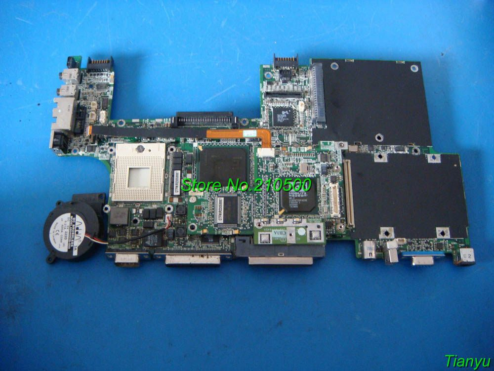 For DELL LATITUDE C510 C610 Laptop Motherboard/Notebook 4P515 04P515,Fully Tested Before Ship(China (Mainland))