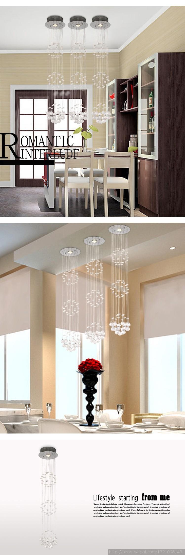 Купить Современный простой Спираль кристалл СВЕТОДИОДНЫЕ энергосберегающие люстра свет Спальня лампа Зал Высококлассные атмосфера crystal Light