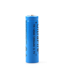 4pc a lot  super fire 14500 battery 1200mah 3.7 V lithium ion rechargeable batteries and LED flashlight, free delivery