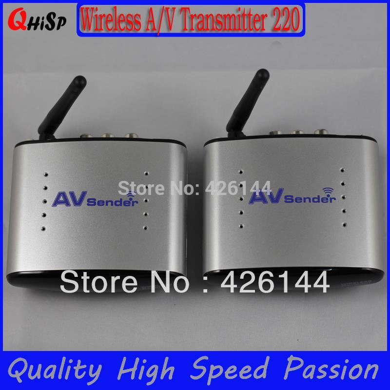 2015 Tv Transmitter Tv Cable Transmissor Cze Rf Modulator New 2.4g Stb Wireless Sharing Device/ Ir Remote Extender/150m Pat-220 <br><br>Aliexpress