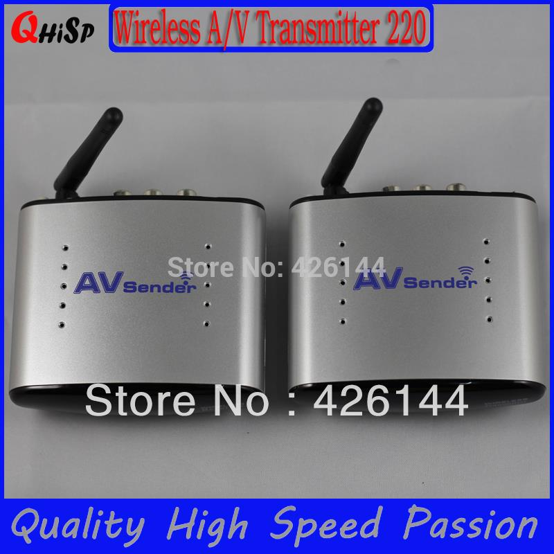 2015 Tv Transmitter Tv Cable Transmissor Cze Rf Modulator New 2.4g Stb Wireless Sharing Device/ Ir Remote Extender/150m Pat-220(China (Mainland))