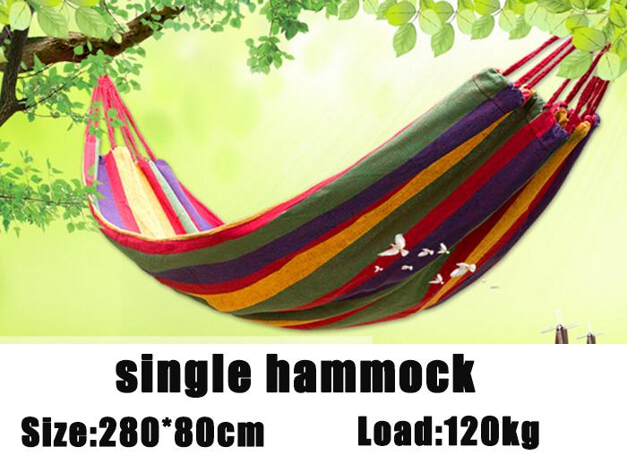Гаджет  280x80cm 700g single person Hammock outdoor hammock camping hunting leisure goods None Мебель