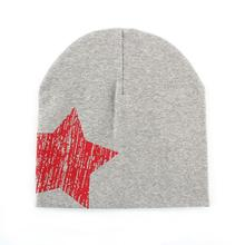 Baby Kid Toddler Cute Stars Printed Hat Soft Warm Cotton Girl Boy Beanie Cap Free Shipping
