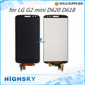 Replacement parts for LG G2 mini D620 D618 LCD screen display with touch digitizer assembly 1