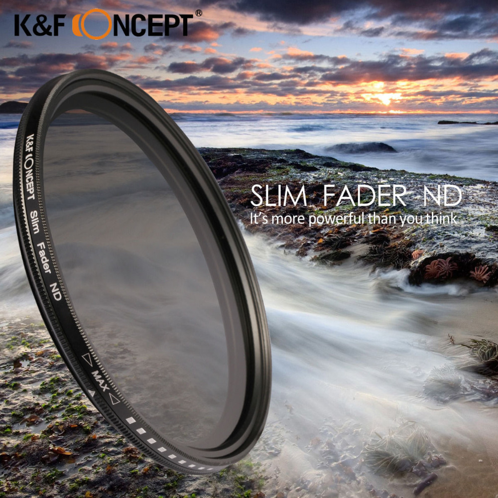 40.5mm Slim Adjustable Fader Variable ND2 ND400 Filter Neutral Density For Samsung NX1100 NX2000 DSLR Camera(China (Mainland))