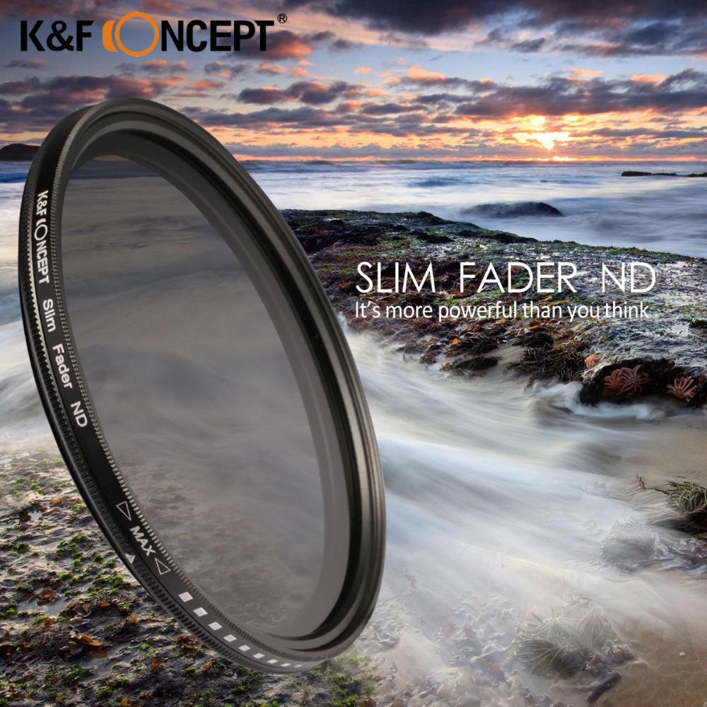 40.5mm Slim Adjustable Fader Variable ND2 ND400 Filter Neutral Density For Samsung NX1100 NX2000 DSLR Camera(China (Mainland))