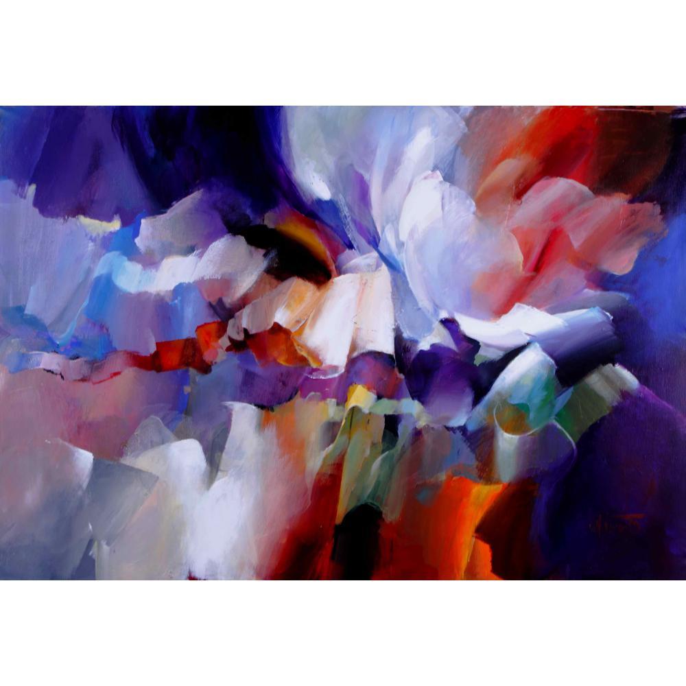 Moderne abstraite expressionnisme promotion achetez des for Tele astratte dipinte a mano