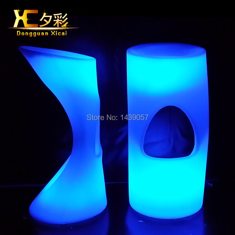 bar stool Picture More Detailed Picture about Plastic  : Plastic Glowing LED Bar Stool Home Garden Light Up Club Furniture Luminous Cocktail Chair For Pub from www.aliexpress.com size 800 x 800 jpeg 274kB