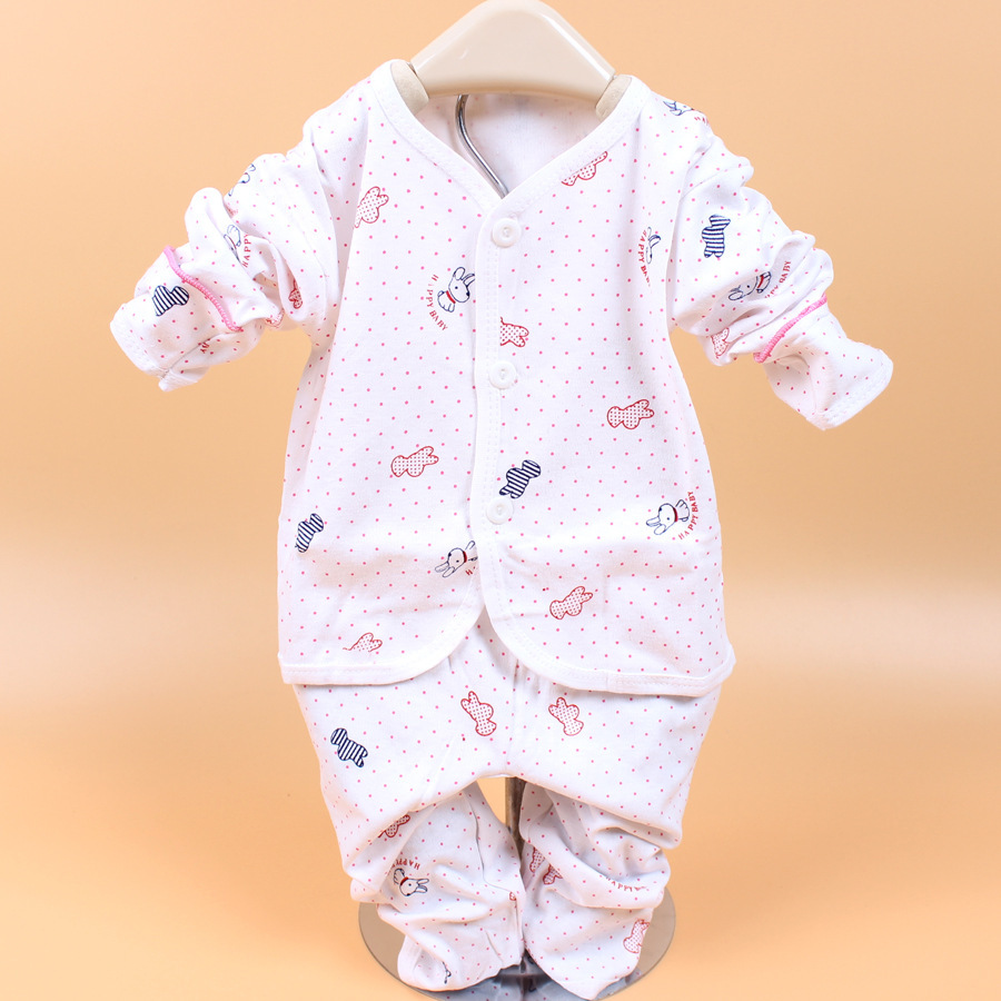 Newborn Baby suit Cotton set Pajamasboy girl gift Sleepwear clothes Brand Baby Sleepers Bathrobe Carters Warm Sleep winter cheap(China (Mainland))