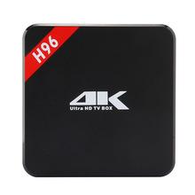Amlogic S905 Cheapest Android TV BOX H96 Kodi 16.0 bluetooth 4.0 quad core 1GB 8GB H96 tv box(China (Mainland))