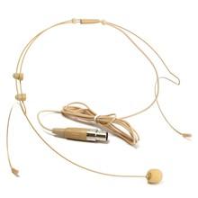 New 4 Pin XLR Dual Ear Hook Headset Head Microphone For Shure Wireless Mini TA4F Plug Head-Mounted Microphone(China (Mainland))