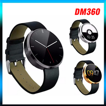 20pcs/lot EMFO DM360 Bluetooth Smart Watch Heart Rate Monitoring Wristwatch Wrist Smartwatch For Apple IOS Android Phone