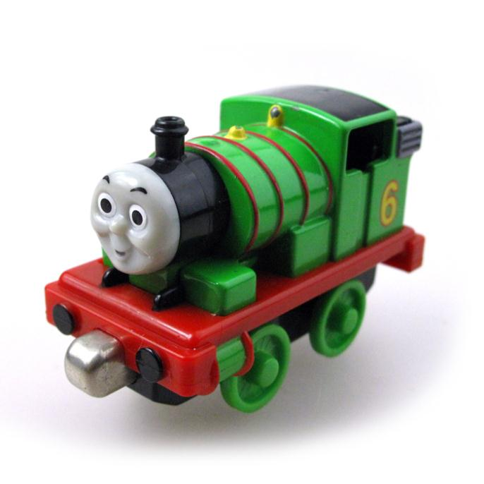 Children gift Diecast THOMAS and friend The Tank Engine take along train metal Magnetic kids toy gift Percy(China (Mainland))