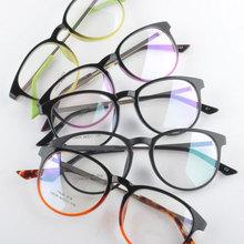 Students Glasses Ultra Light TR 90 Round Optics Glasses Frame Eye Glasses