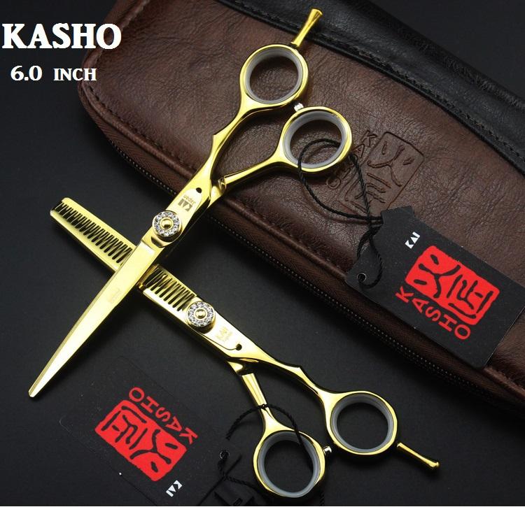 kasho профессиональная резка ножницы истончение ножницы