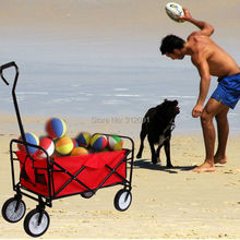 Ship from USA!Wagon Garden Planter Collapsible Folding Cart Yard Shopping Beach Buggy Sport(China (Mainland))