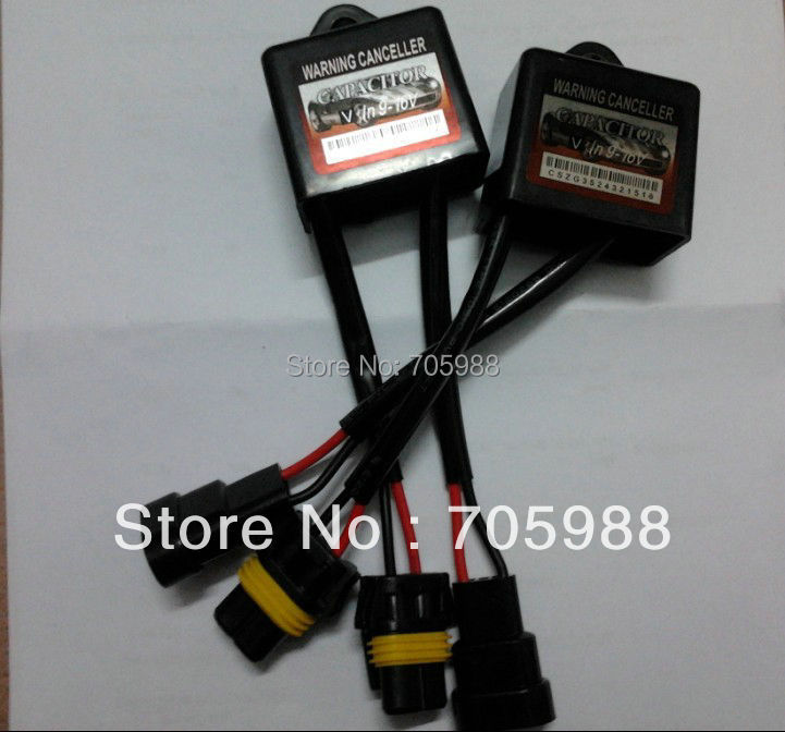 2* HID Warning Canceller Decoder Error Code Free Capacitor Canbus HID Conversion Kit HID kit Computer Warning Canceller(China (Mainland))