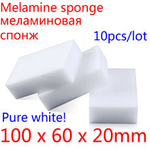 Melamine Sponge Magic Sponge Eraser Melamine Cleaner Eco-Friendly White Kitchen Magic Eraser 2015 New 10pcs/lot 100*60*20mm