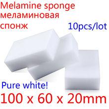 Melamine Sponge Magic Sponge Eraser Melamine Cleaner Eco-Friendly White Kitchen Magic Eraser 2015 New 10pcs/lot 100*60*20mm