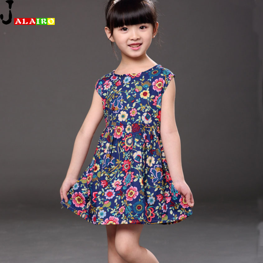 2016 Summer Girl Party Dress Fashion Kids Party Dresses For Girls Fashion Casual Summer Dress