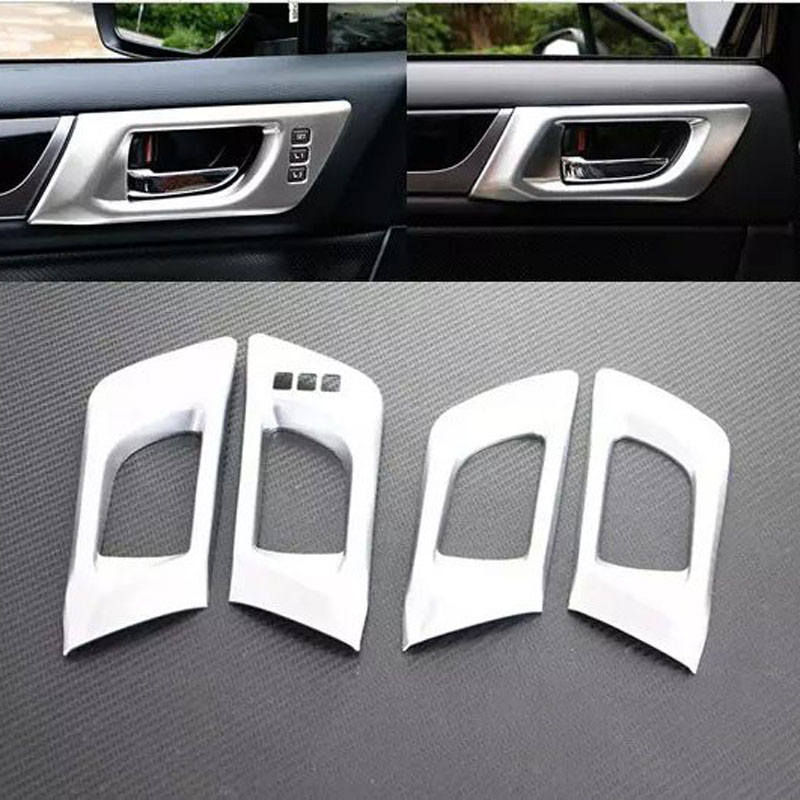 China Manufacture ABS Chrome Inner Door Handle Cover For Outback 2015 Car Accessories(China (Mainland))