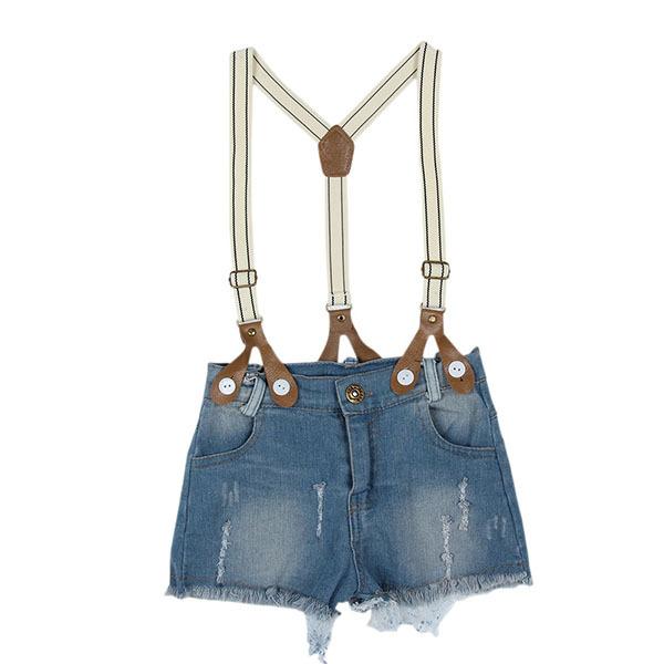 летние девушки малышей Костюмы дети верхней рубашки + bib брюки снаряжение детей наборы 2pcs одежды