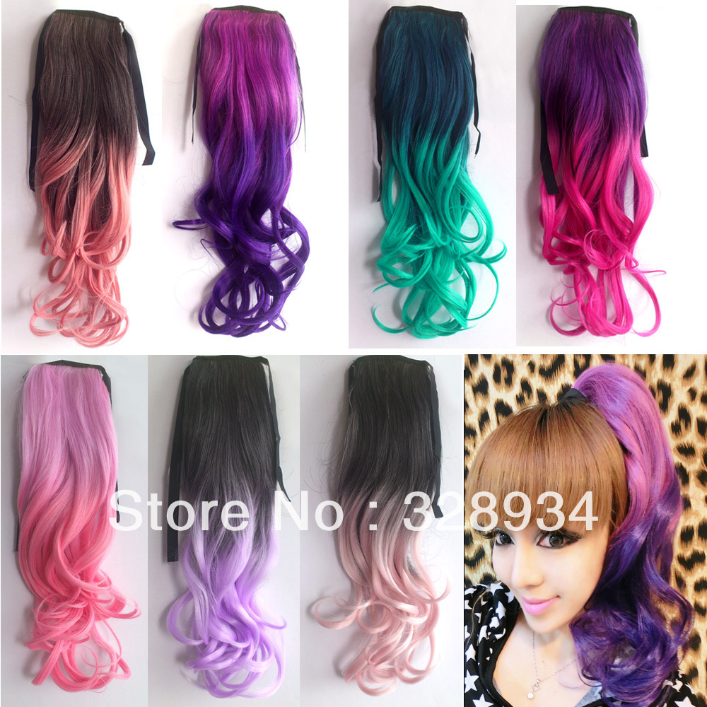 Wholesale Synthetic Hair Extensions 55