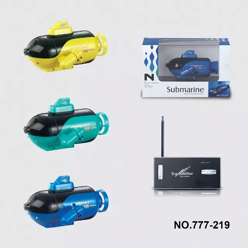 777-219 4CH Radio Remote Control Sport Boats Submarine Power RC Boats Toy