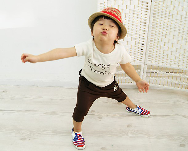 2013 new arrival 5 set/lot cute fashion character girls boy sets baby suit 4 color size 90 100 110 120 130<br><br>Aliexpress