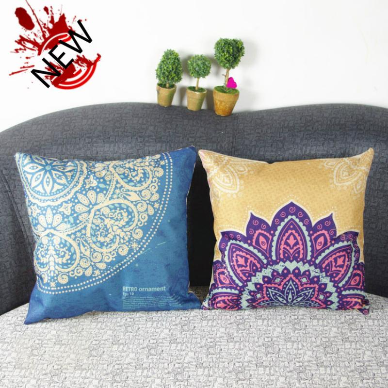 Mediterranean Cushions Colorful Decorative Pillows Striped ...