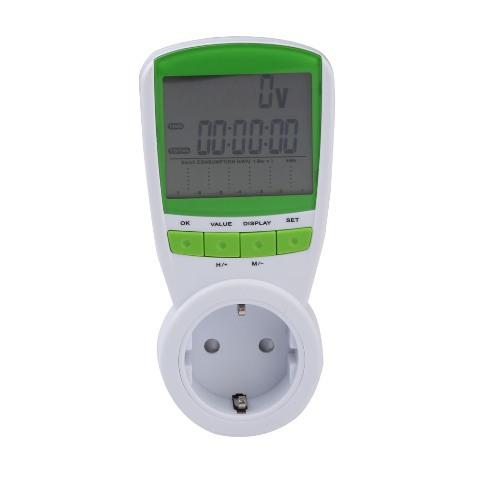 Гаджет  FREE SHIPPING 230V energy meter Watt Voltage Volt Meter Hertz Power Analyzer Factor EU    #gib None Бытовая электроника