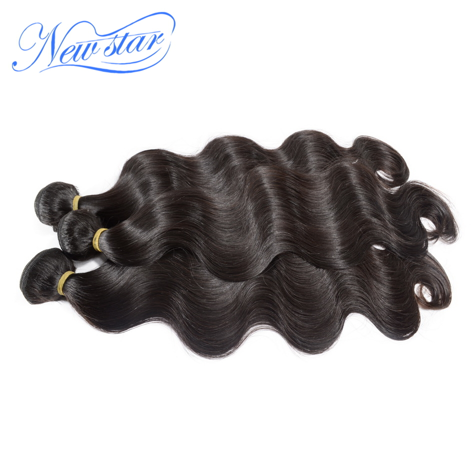 natural color cheap new star grade 8a mongolian unprocessed virgin human hair body wave extension sale 3pcs lot free shipping(China (Mainland))