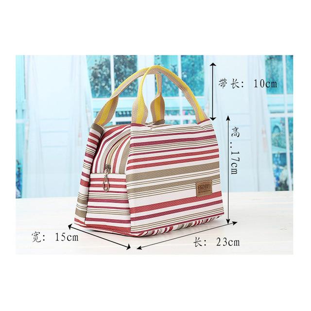 Горячий дизайн печати утолщение тепловые сумки обед мешок большой термостат с потеплением ...