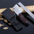 Kitchen Knife ebony handle Outdoor Portable Small Survival Camping Straight Knife 57HRC Hardness outdoor cook chopper