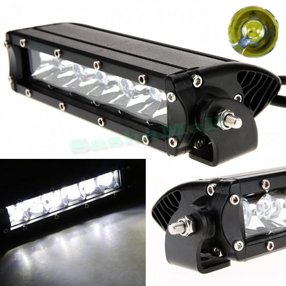 1pcs 30W LED Work Light Bar Lamp for Driving Truck Trailer Motorcycle SUV ATV Off Road Car 12v 24v Flood Spot Free Shipping 51(China (Mainland))