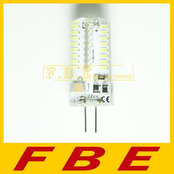 2015 New LED G4 SMD3014 lamp 7W 8W 10W g4 64led 72led 104led bulb AC110V/220V Silica Gel LED corn bulb Warmwhite/White light(China (Mainland))