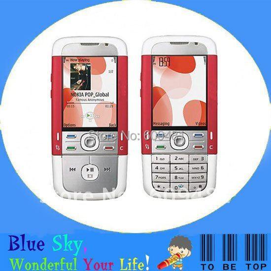Unlocked original nokia 5700 mobile phone quad band 3G phone Russian keyboard(China (Mainland))
