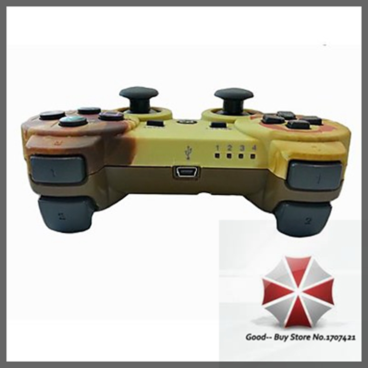 Rechargeable USB Wireless Bluetooth Game Controller for Playstation 3/PS3 Sixaxis GB-000235(China (Mainland))