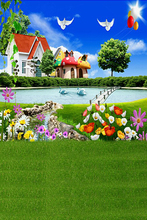 children new theme photography background cloth baby studio photos background outdoor background 1724
