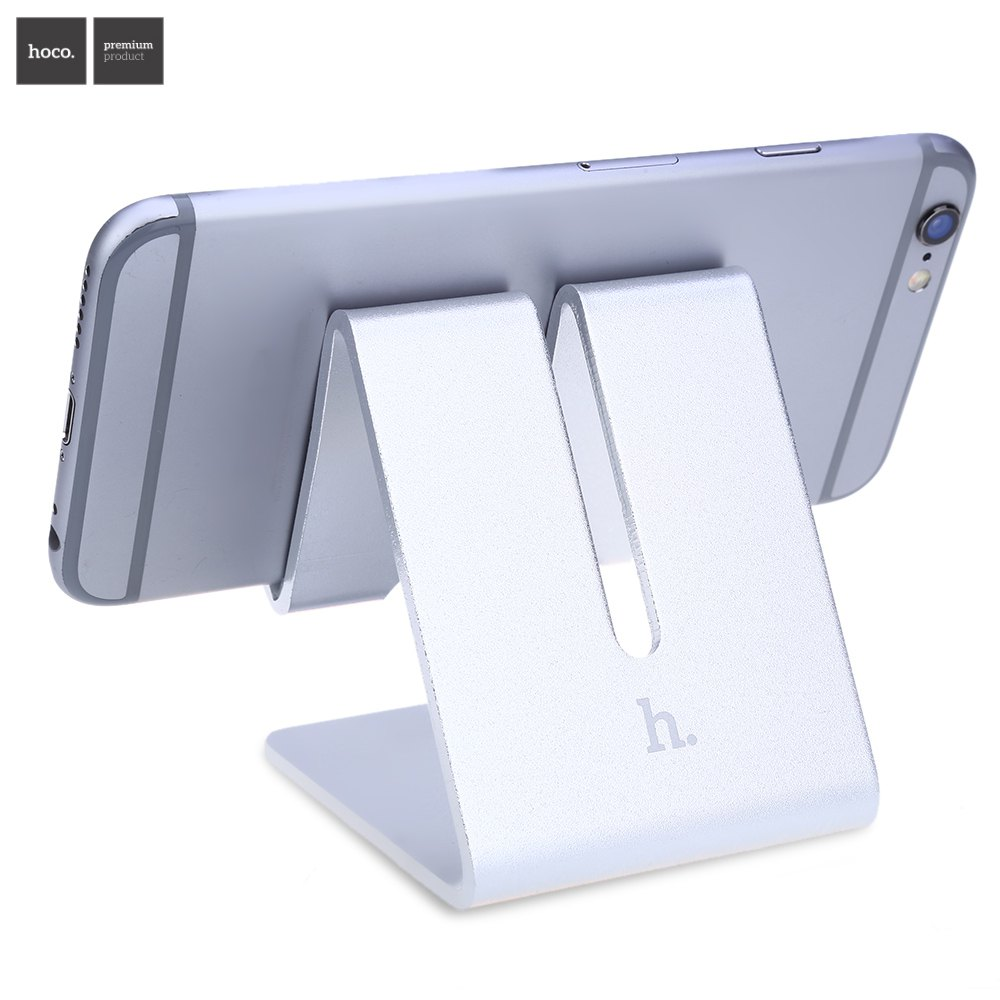 HOCO P1 Triangle Shape Stand Aluminum Holder for Mobile Phone Tablet PC Release Your Hands Provide the Best Vision(China (Mainland))
