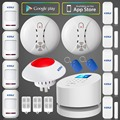 KERUI W2 IOS Android APP LCD UI Smart Touch Keypad Wireless WI FI GSM PSTN Home