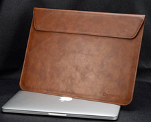 New PU Leather laptop bag, Notebook Case bag For Apple macbook Air Pro Retina 11 13 inch Computer Sleeve Protector For Mac book(China (Mainland))