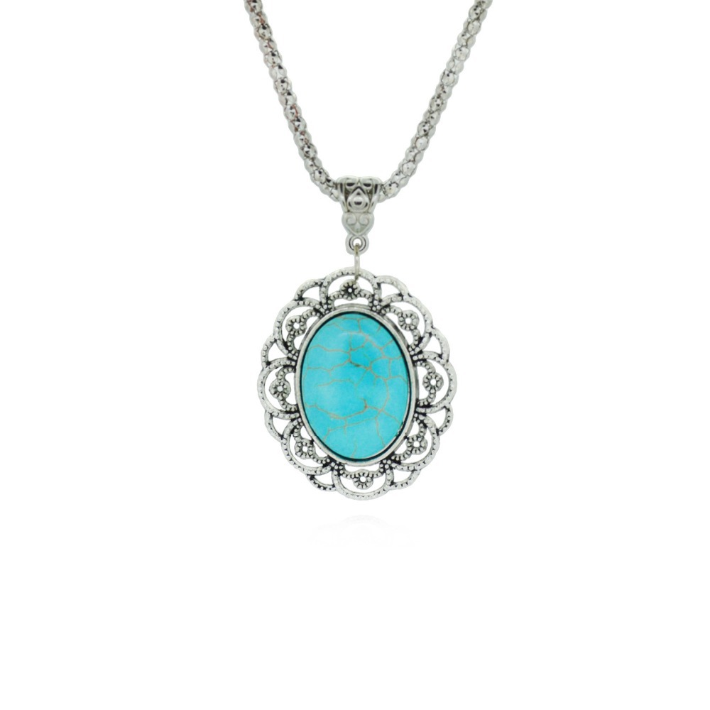 Гаджет  Free Shipping No Mini Order Turquoise Necklace Pendant & Necklace Chain Vintage Jewelry Fashion For Women None Ювелирные изделия и часы