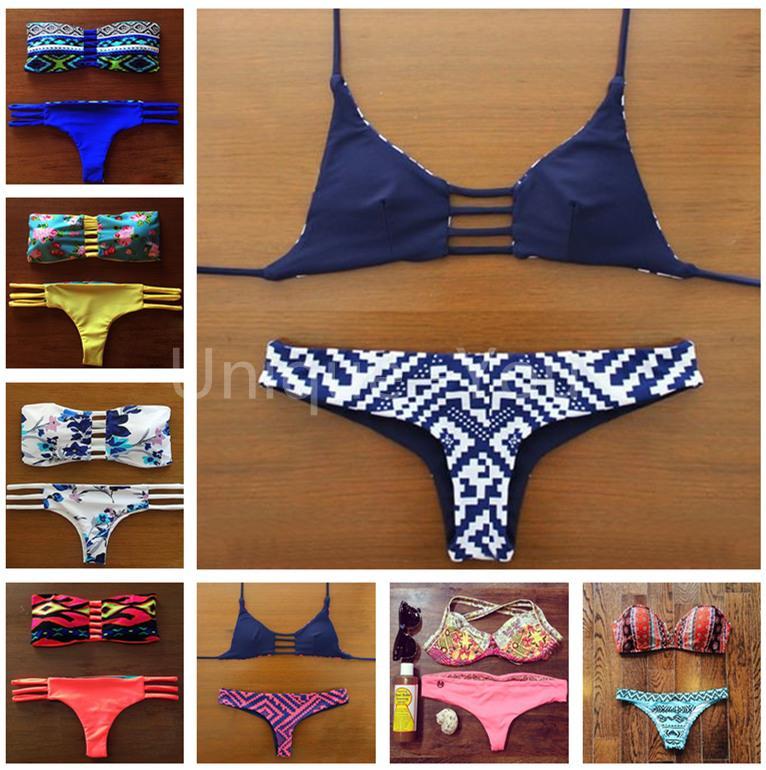 купить Женское бикини BIKINI 2015 /bain B22 swimwear по цене 1051 рублей