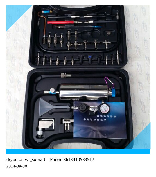 High quality NON-DISMANTLE Cleaning tool GX100 for Fuel Injector Cleaner tester Machine(China (Mainland))