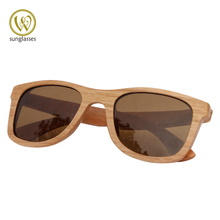 2015 New Bamboo Sunglasses Men Wooden Sunglasses Women Wood Sun Glasses