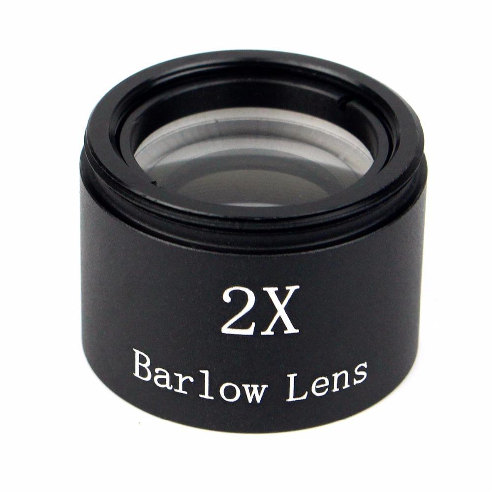 "Гаджет  Hot Sale 31.7mm 2X Barlow Len M30*1 Thread for Standard 1.25"" Telescope Eyepiece Astronomy W2125A Eshow None Инструменты"