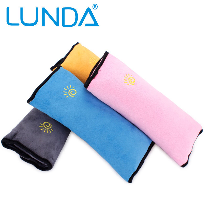 Free shipping Children Car seat belts pillow of Child,Protect the shoulder, Protection, Newest cushion bedding pillow(China (Mainland))